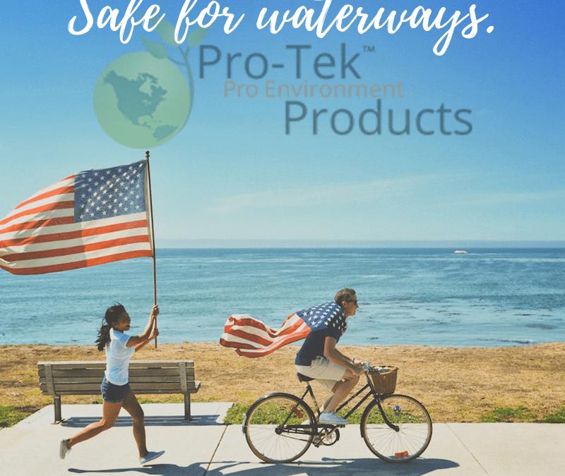 Keep waterways free from toxins.