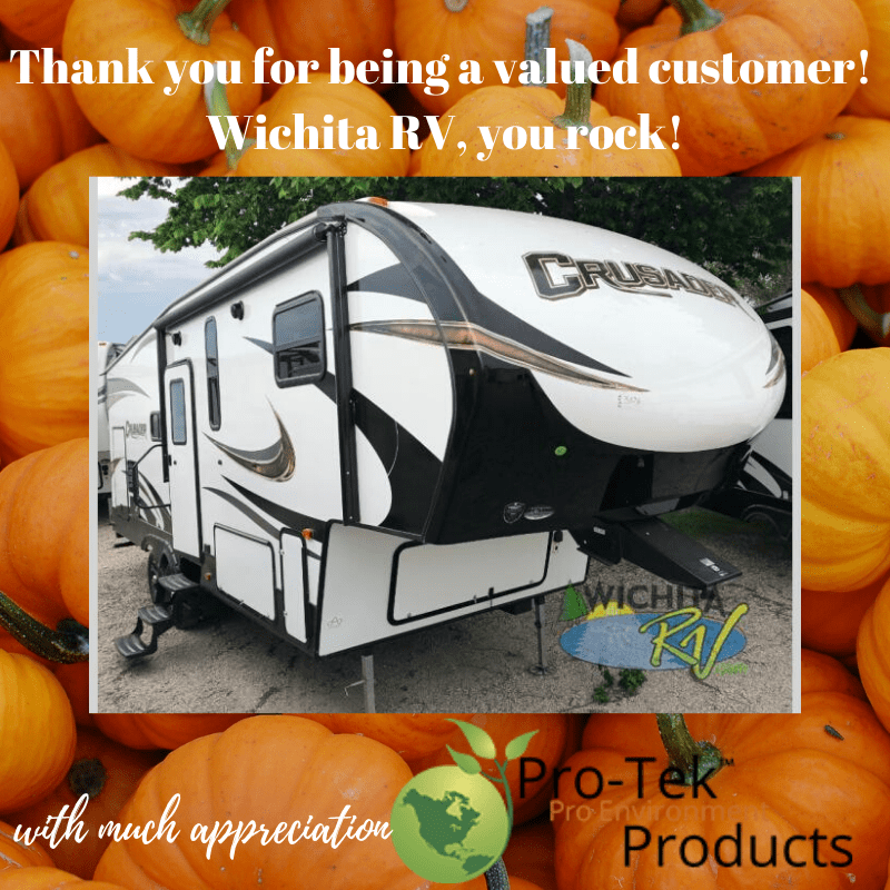 Pro-Tek thanks Wichita RV