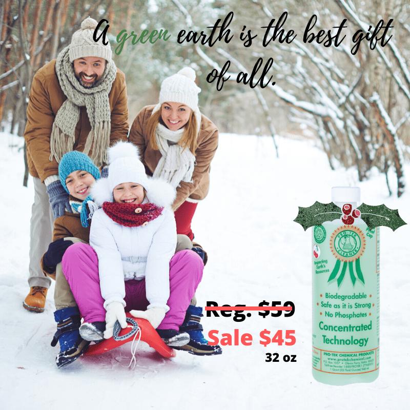 a family enjoys a winter day pro-tek