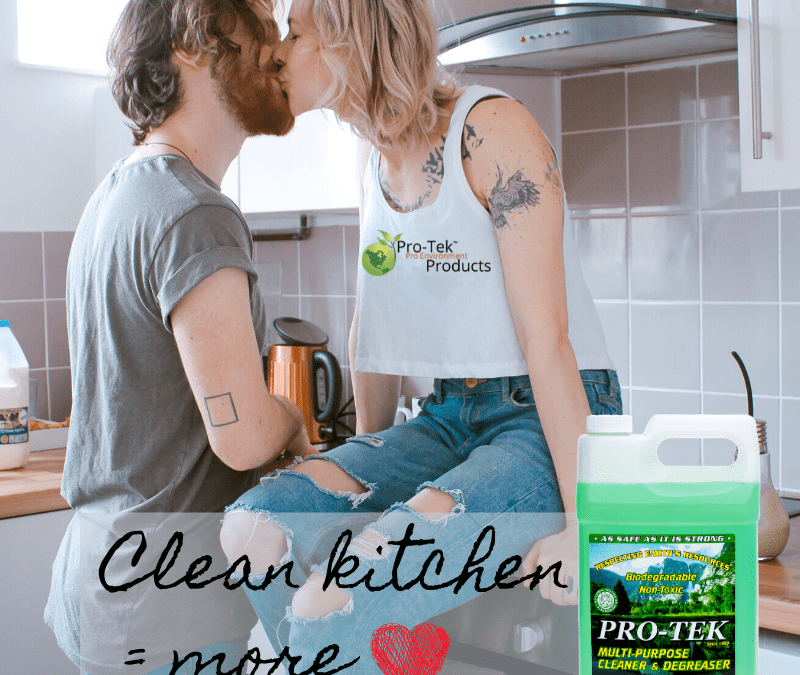 A Clean Kitchen = More Love