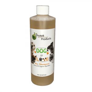 Dog is Love 16 oz shampoo