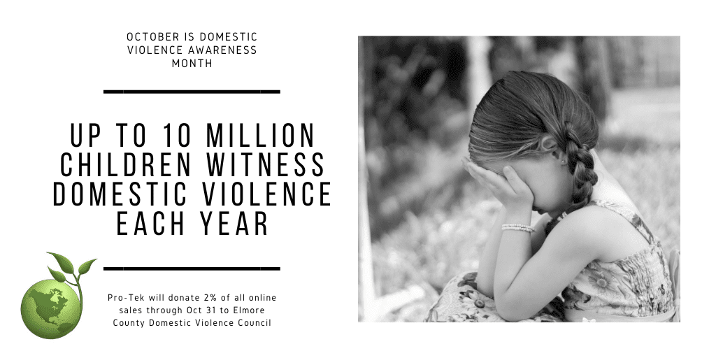 Up to 10 Million Children Witness Domestic Violence Each Year