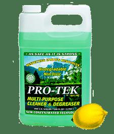pro-tek lemon cleaner