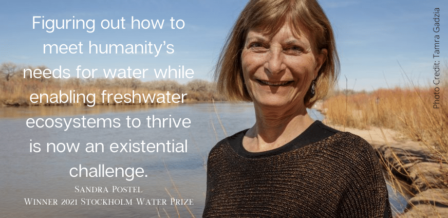 Announcing the Winner of the 2021 Stockholm Water Prize!